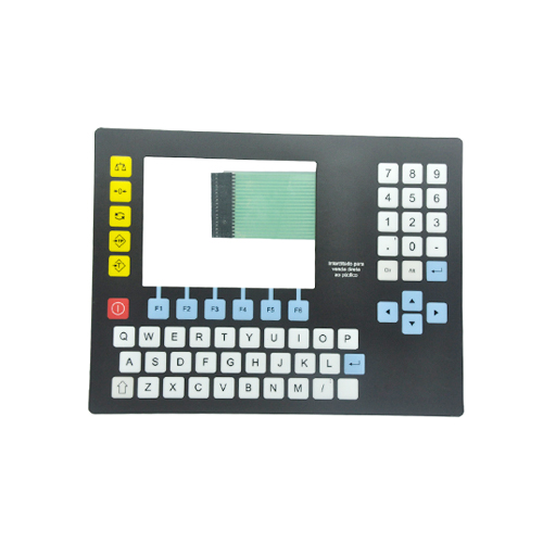 Metal dome membrane button keypad