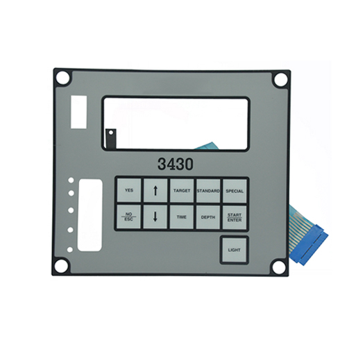 Waterproof Nuclear density meter membrane keypad switch