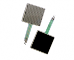1.5 inch square force sensing resistor FSR with male connector