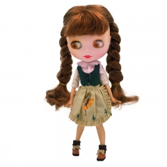 Blythe Doll BJD, Factory Neo Blythe Doll Nude Customized Dolls Can Changed Makeup Dress DIY, 1/6 Ball Jointed Dolls Gift Ideas NO2