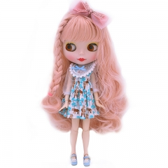 Blythe Doll BJD, Factory Neo Blythe Doll Nude Customized Dolls Can Changed Makeup Dress DIY, 1/6 Ball Jointed Dolls Gift Ideas NO5