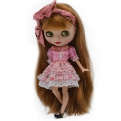 Blythe Doll BJD, Factory Neo Blythe Doll Nude Customized Dolls Can Changed Makeup Dress DIY, 1/6 Ball Jointed Dolls Gift Ideas NO4