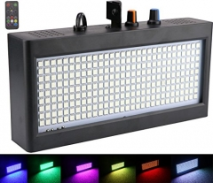 270 LED Strobe Lights Mini, Latta Alvor Stage Light for Parties DJ Lighting KTV Flashing 7 Colors Strobe Lights Romote control (color light)
