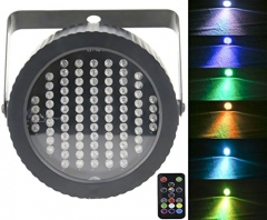 Stage Lights Par 86 LED,Latta Alvor DMX512 RGB Strobe Light Party Lights for Disco Bar Show Pub KTV Party DJ Lights with Sound Activated & Remote