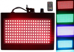 180 LED DJ Lights, Latta Alvor Flashing Stage Strobe Light for Parties Disco DJ Stage Lighting with Auto Sound Activated Remote Control (RGB)