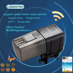LONDAFISH Aquarium Wi-Fi Fish Feeder Automatic Fish Feeders Auto Fish Food Timer Feeder for Fish Tank
