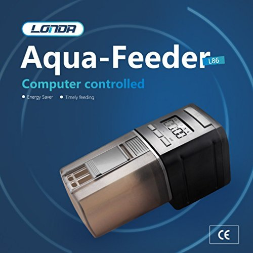 Aquarium Fish Feeder Automatic Fish Feeders Auto Fish Food Timer Feeder Fish Tank