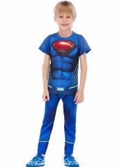 Boys Superhero Classic Serices Tracksuits Kids Role Playing Sports Performance Suit