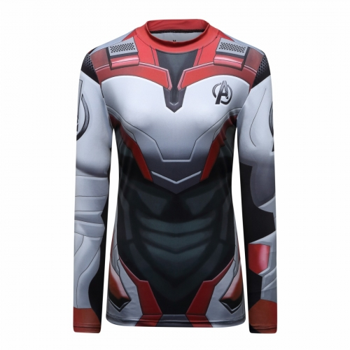 Women's Compression Sports Fitness Shirt Running Shirt Base Layer Shirts Tee Printing Long Sleeve Quick Dry Long Sleeve Tee