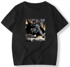 Men's Basic Style T-shirt Batman Printing T-Shirt Crew Neck Cotton T-Shirts Outdoor shirt 2/Colours