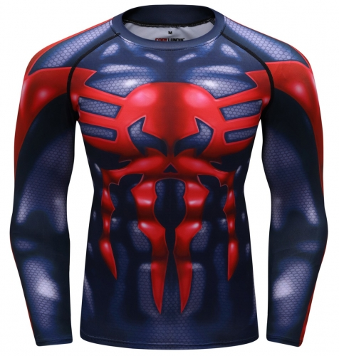 Men's Fitness Training Shirt Venom Clothes Quick-Dry Functional Long Sleeve Shirts Tight Long Sleeve Tee