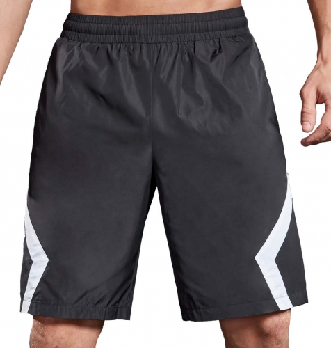 Men's New Casual Summer Series Elastic Waist Pants Sports Quick-Dry Training Shorts Pants Breathable Gym Pants