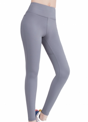 Women's High-waisted Tight Pants Yoga Pants Jogger Running Workout Trousers Elastic Tight Leggings