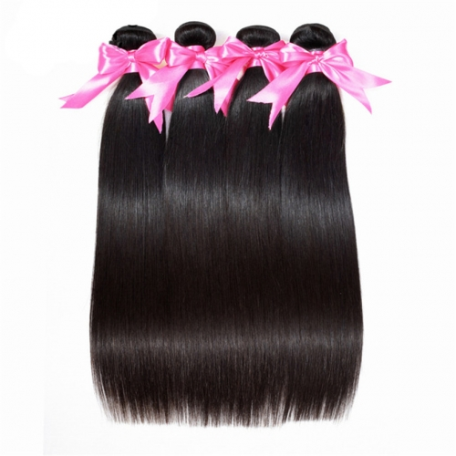 4 Bundles Straight Hair Superior Quality Top Grade Wholesale 100% Human Hair