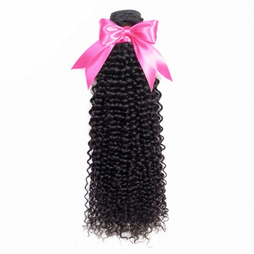 1 Bundle Kinky Curly Virgin Hair Bundle Deals,100% Human Hair Extension