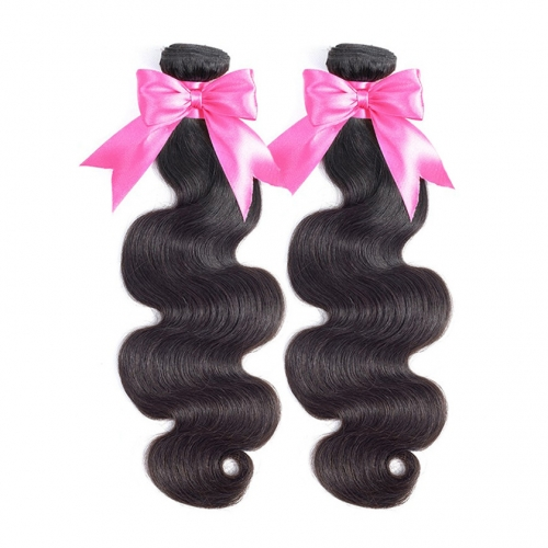 2 Bundles Body Wave Hot Sale Alibaba Stock Price Black Natual Human