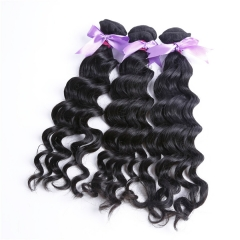 3 Bundles Natural Wave Wavy No Chemical Full Cuticle No Tangle 100% Best Quality Virgin Wavy Hair Bundles
