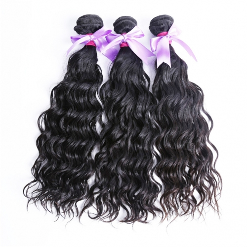3 Bundles Water Wave Alibaba Express Hair Products Hot Selling Real Virgin Kinky Curly Hair Weaves