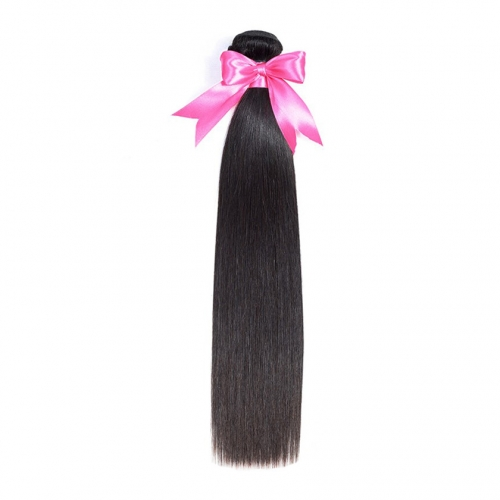 1 Bundle Straight Hair Virgin Hair Bundle Deals No Shedding No Tangle Human Hair Extension
