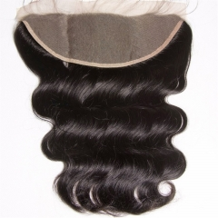 13x4 Body Wave Lace Frontal Wholesale New Products 100% Human Hair Bleached Knots Transparent HD Lace Frontal With Baby Hair