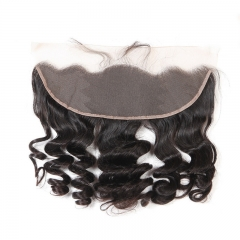 13x4 Loose Wave Lace Frontal With Baby Hair Bleached Knots Merry Hair New Arrival Products 100%Human Hair