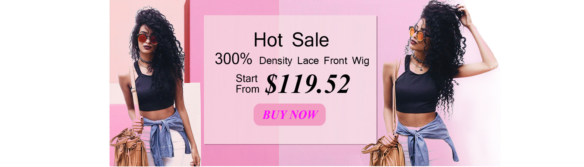MerryHair Hot Sale 300% Lace Front Wig Only $119.52