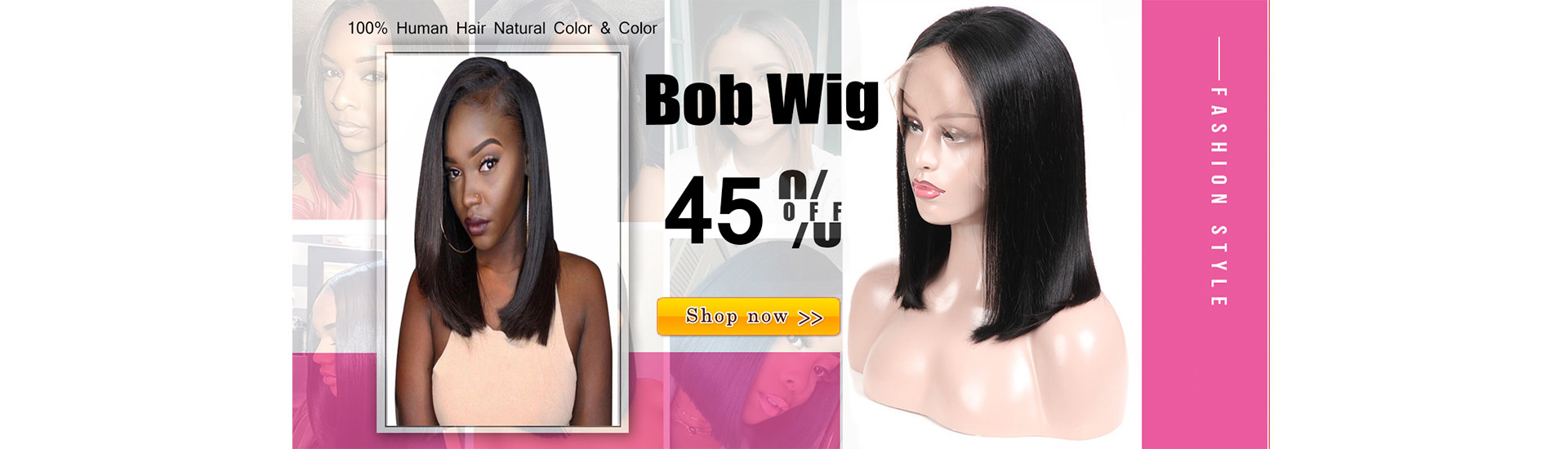 Bob Lace Front Wig 45% OFF Discount