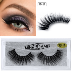 Eyelash Manufacturer Wholesale 3d Mink Eyelashes With Packaging Box Private Label