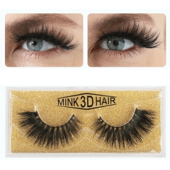 Manufacturers Wholesale Cosmetics Multi-Level Natural Thick 3D Mink Hair Eyelashes