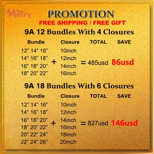 9A Grade Virgin Human Hair Bundles With Lace Closure Wholesale Deals