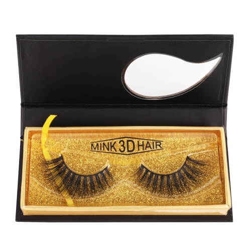 Three-Dimensional Multilayer Thick Makeup 3D False Eyelashes