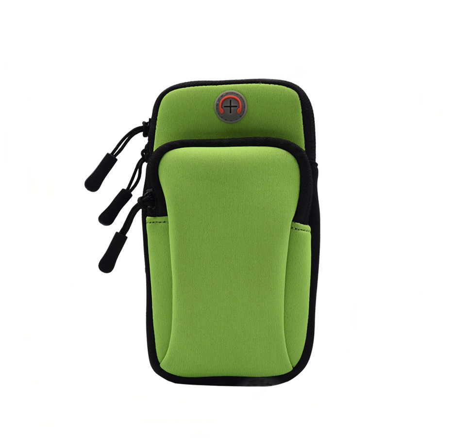 Green-sports mobile phone arm bag
