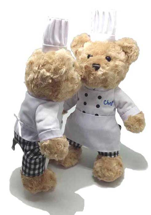 Chef Teddy Bear Plush Toy