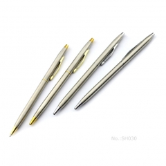 Promotional Metal Slim Hotel Ballpoint Pen