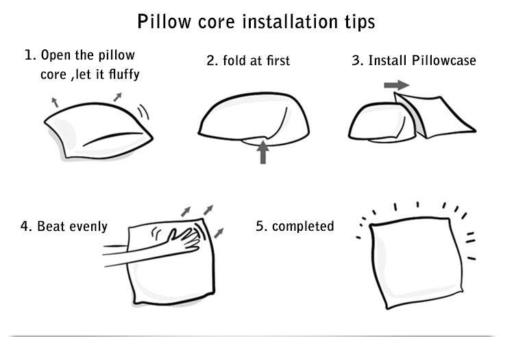 Sofa pillows installation tips