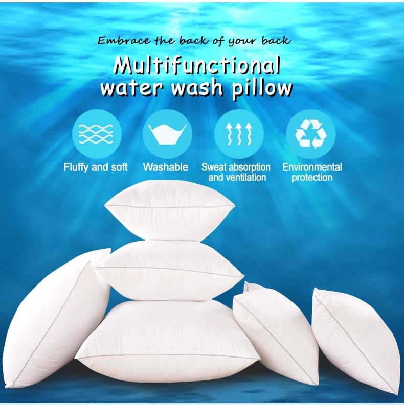 sofa pillows washing water mark