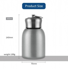 High Quality Airtight Leak Proof Stainless Steel Coffee Cup for Hot Cold Tea Coffee