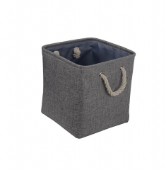 Collapsible Fabric Storage Baskets Organizer Bin w...