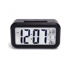 LED Table Desk Digital Alarm Clock 24 or 12 Hour D...