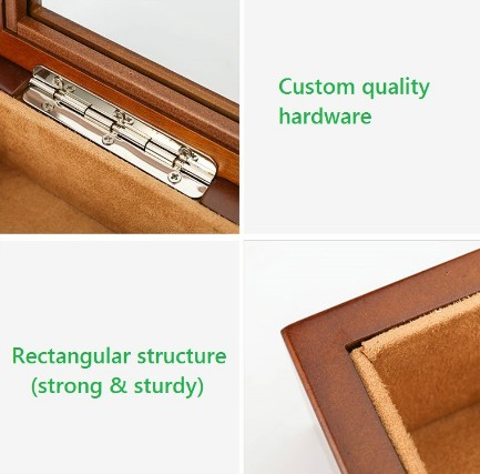 Solidwood Multilayer Board Jewelry Box is very strong