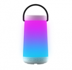 Colorful Led Light Portable Wireless Bluetooth Speaker 丨Support Hands-Free Calli...
