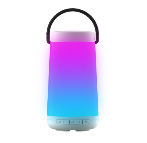 Colorful Led Light Portable Wireless Bluetooth Speaker 丨Support Hands-Free Calling丨3D Surround Stereo丨2000mah Power Bank丨Outdoor Camping Essential Duoyinfo