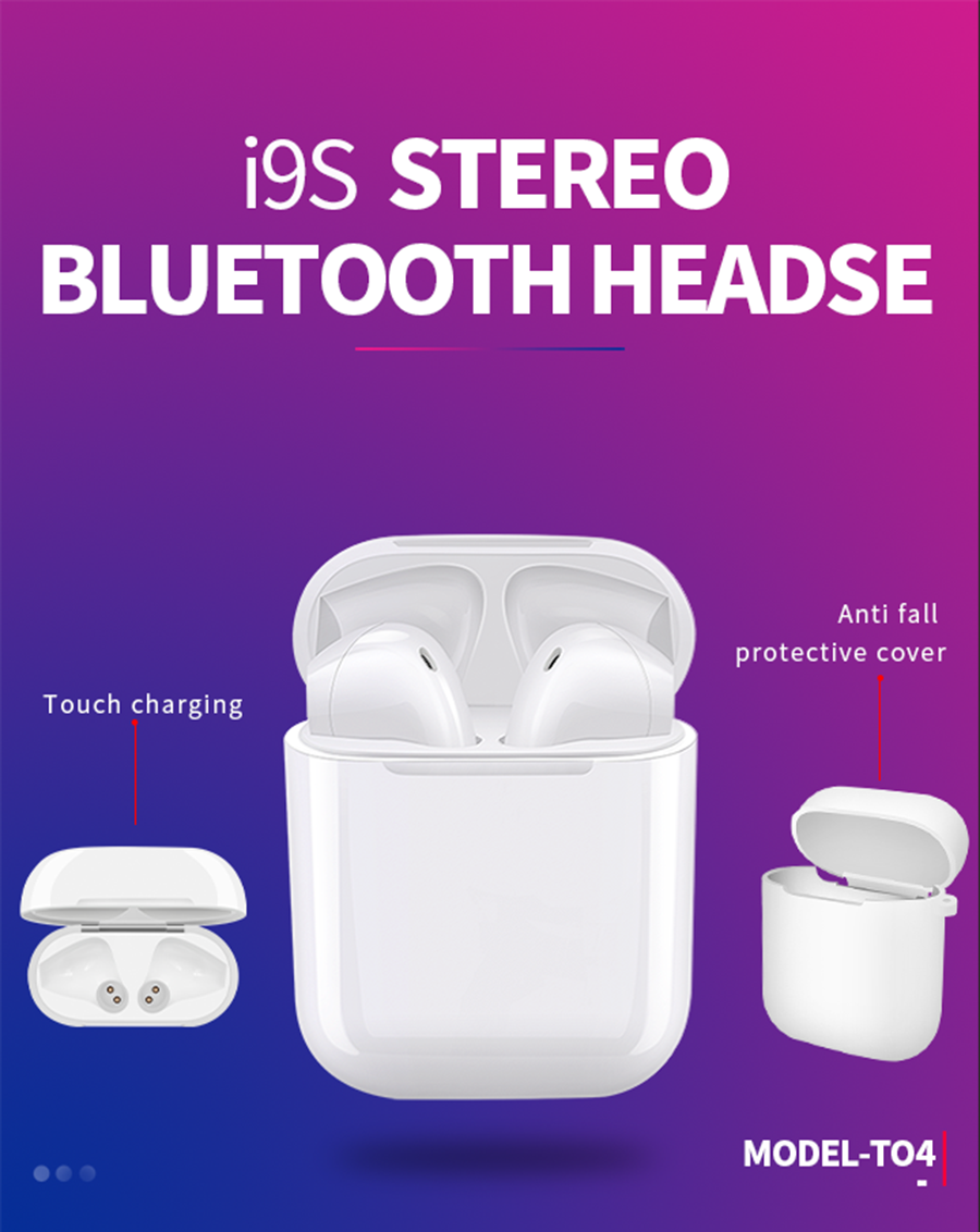 New Product Custom Headset i9s Tws Wireless Earbuds For