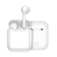 i9 TWS Bluetooth Airpods True Stereo, Support All Devices | Button Charging Box | Magnet Charging Earphones | Bluetooth 5.0| Fast and Stable Earpods
