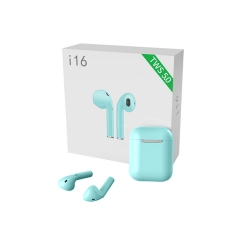 TWS i16 Wireless Airpods with Charging Case丨 Bluetooth 5.0 Binaural call丨iPhone Lighting Charging Port | Smart & Automatically Charging, Without Button