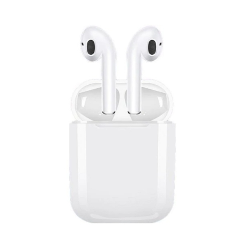 i9s TWS Wireless Airpods with Automatic Smart Charging Box, Auto Bluetooth Pairing | Real Stereo Sound | With Silicone Cover & Hook丨Original Apple Mini Size