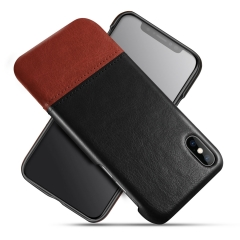 Fashion Color Collision Leather Case for Samsung / iPhone / Most Phones丨PU+PC 丨A...