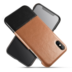 Fashion Color Collision Leather Case for Samsung / iPhone / Most Phones丨PU+PC 丨Anti-fall Phone Case