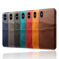 Premium Leather Phone Case With Card Slots for Samsung / iPhone / Most Phones