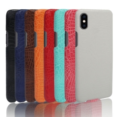 Ultra-Thin Premium  Crocodile leather Phone Case  for Samsung / iPhone / Most Phones丨 PU Leather Slim Case丨 Protective Case